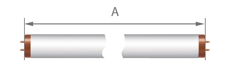 Как измерить длину ламп для солярия